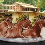 Beautiful Collector's Edition Items Designed By Zeber-Martell Clay Studio Created Exclusively To Benefit Happy Trails
