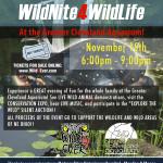 wildnite4wildlifeposterCleveland Aquarium Wildlife Event