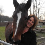Annette&BarneyTheHorse